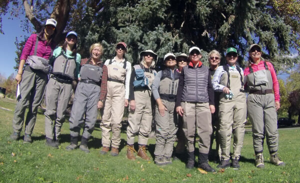 Participants of the Reno Fly Shop WTF Clinic 10/26/14