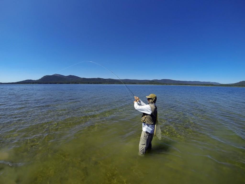 Jon Baiocchi at Lake Davis