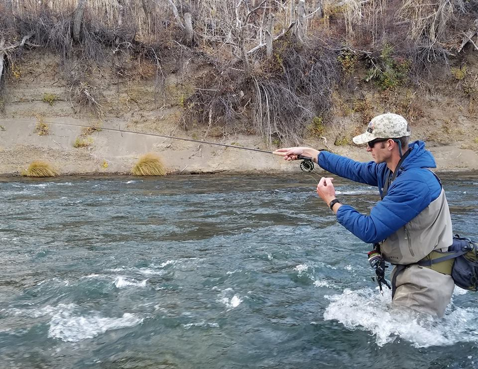 Fly fishing report early november reno fly shop for Fishing in november